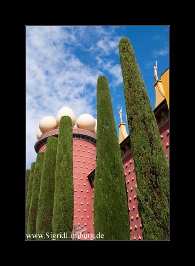 Dalí-Museum Fassade
