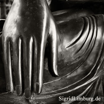 Foto Fotografie Hand Buddha Nepalpavillon