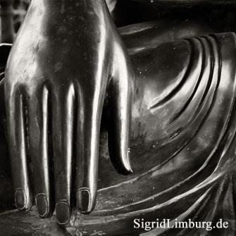 Foto Fotografie Hand Buddha Nepalpavillon