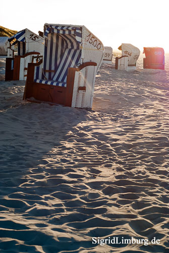 Foto Fotografie Strandkrbe Sonne Sand